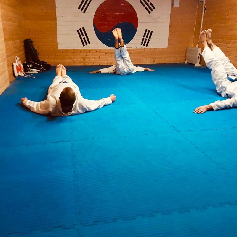 TaeKwonDo und HapKiDo Training Yong Du Tsche Yuk Kwan (17)